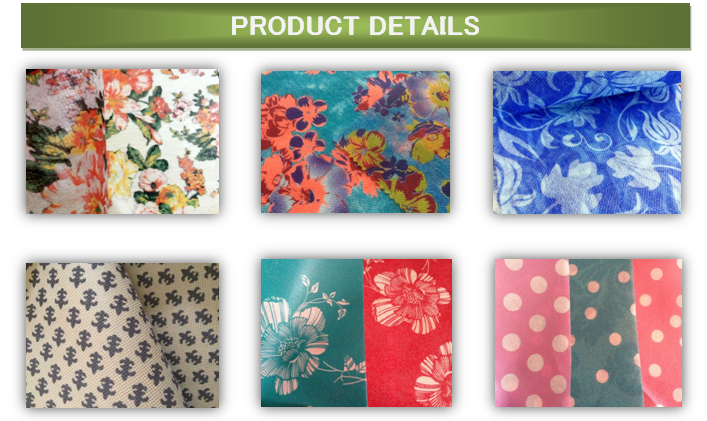 Colors Printing Nonwoven Fabric