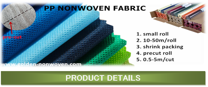 small roll nonwoven fabric