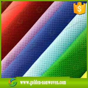 Color Pp Spunbonded Nonwoven Fabric In Rolls