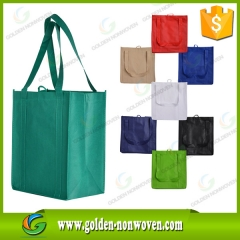 Sac à provisions pp non-tissé faite par Quanzhou Golden Nonwoven Co., ltd