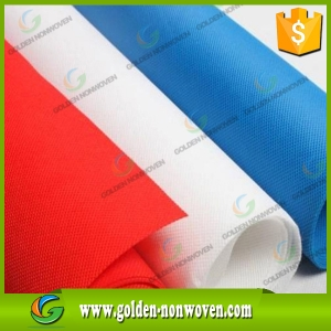Factory Price Colored PP Spunbond Non woven Fabric made by Quanzhou Golden Nonwoven Co.,ltd