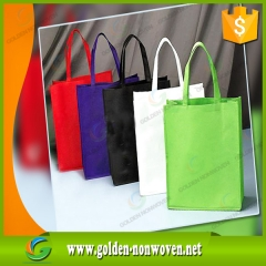 Bon marché Price PP non tissé shopping bag faite par Quanzhou Golden Nonwoven Co., ltd