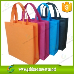 Eco-friendly recycle pp non woven bag faite par Quanzhou Golden Nonwoven Co., ltd