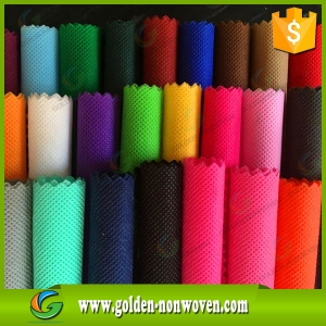 Biodegradable Pp Spunbond Nonwoven Fabric For Making Bags made by Quanzhou Golden Nonwoven Co.,ltd