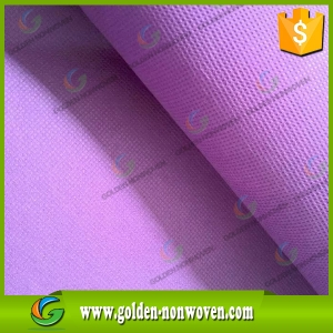 Cheap Polypropylene Spunbond Nonwoven Fabric Price made by Quanzhou Golden Nonwoven Co.,ltd