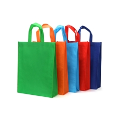 100% biodégradable pla sac non-tissé sac tnt shopper faite par Quanzhou Golden Nonwoven Co., ltd
