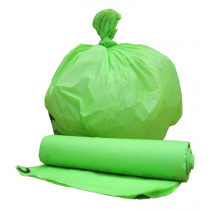 100% biodegradable promotional bag polybag pla t shirt bag made by Quanzhou Golden Nonwoven Co.,ltd