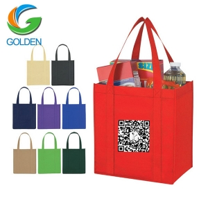 China Factory Price 100% rpet Non Woven bag made by Quanzhou Golden Nonwoven Co.,ltd
